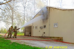 FF`s Attack Upstairs Fire Again