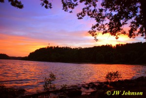 Beautiful Sunset Kentucky Lakes 2