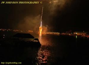 Massive Fireball Launch