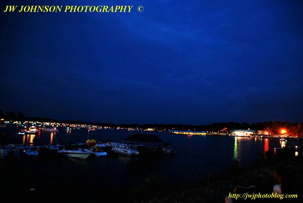 Nightlights Across Bay