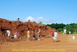 Thomas Family Rockhounders At Miller Mtn Mine
