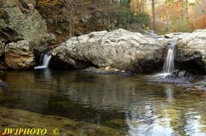 Little MO Falls upper falls