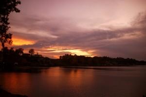 South Lake Hamilton Sunset 2