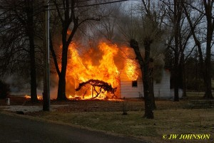 Fully Engulfed Prior to Arrival