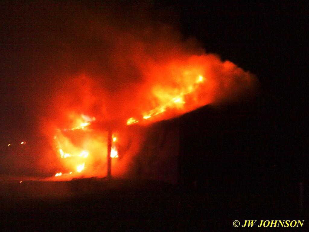 13 Heavy Fire Gains Intensity