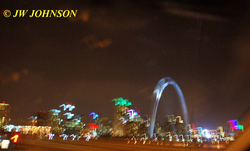 Arch and St Louis Skyline
