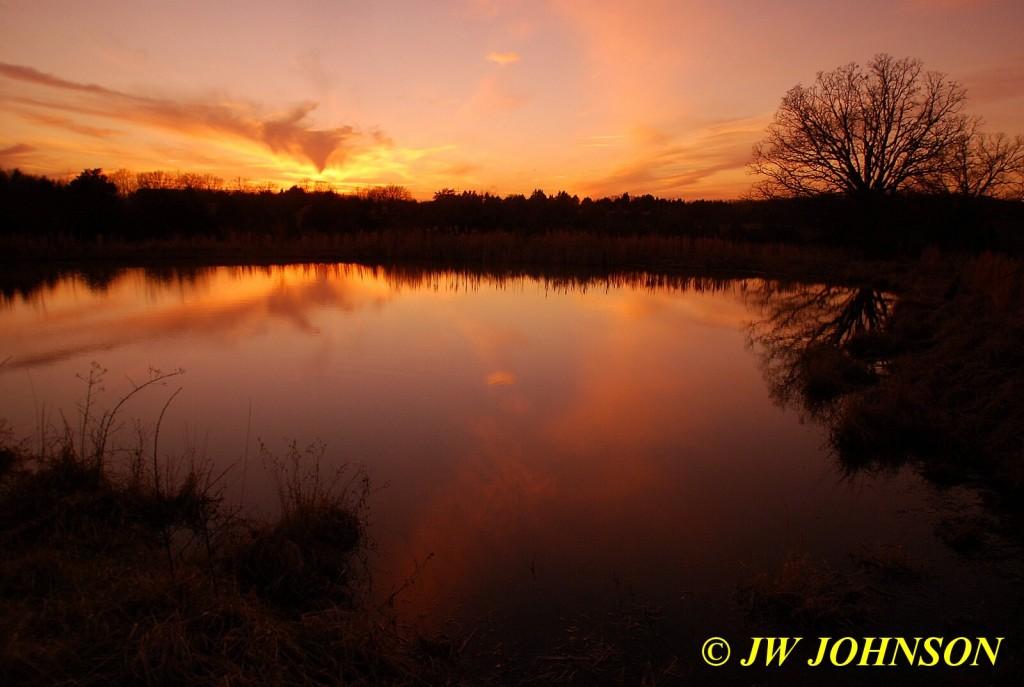 Farmpond Sunset 3