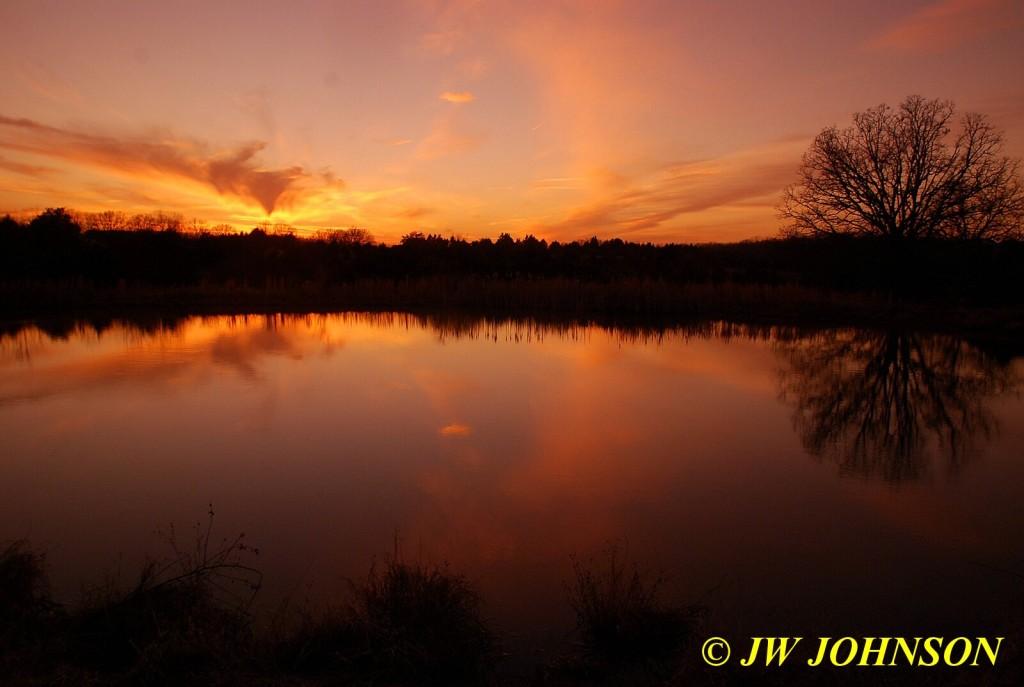 Farmpond Sunset 4