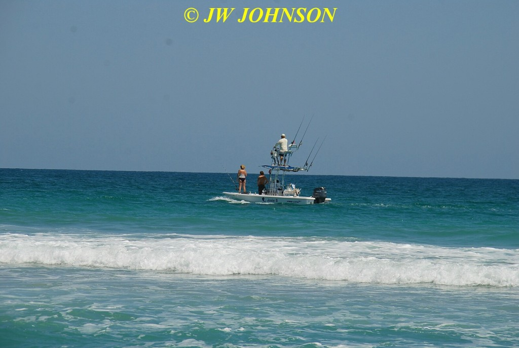 Fishing Boat Off Shore