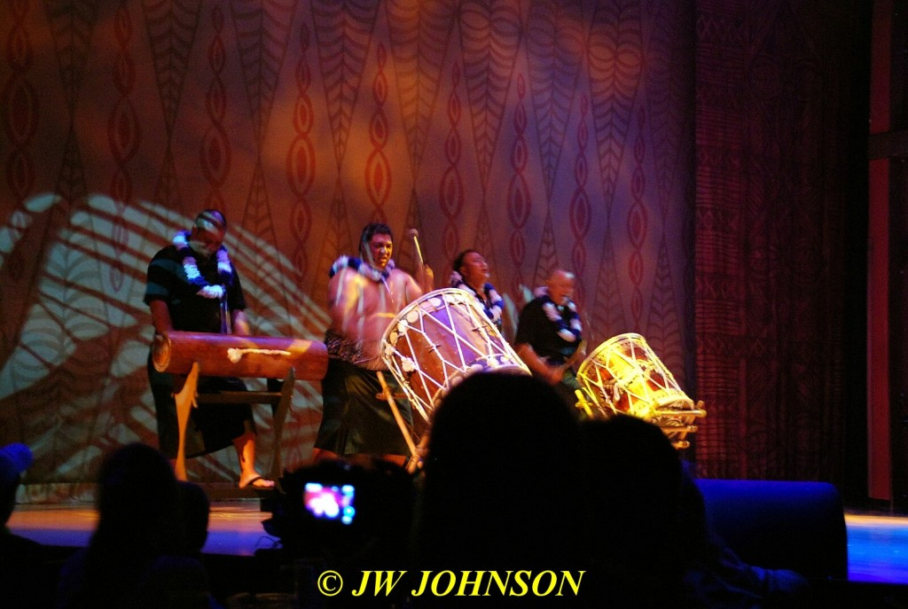 Polynesian Show Drummers