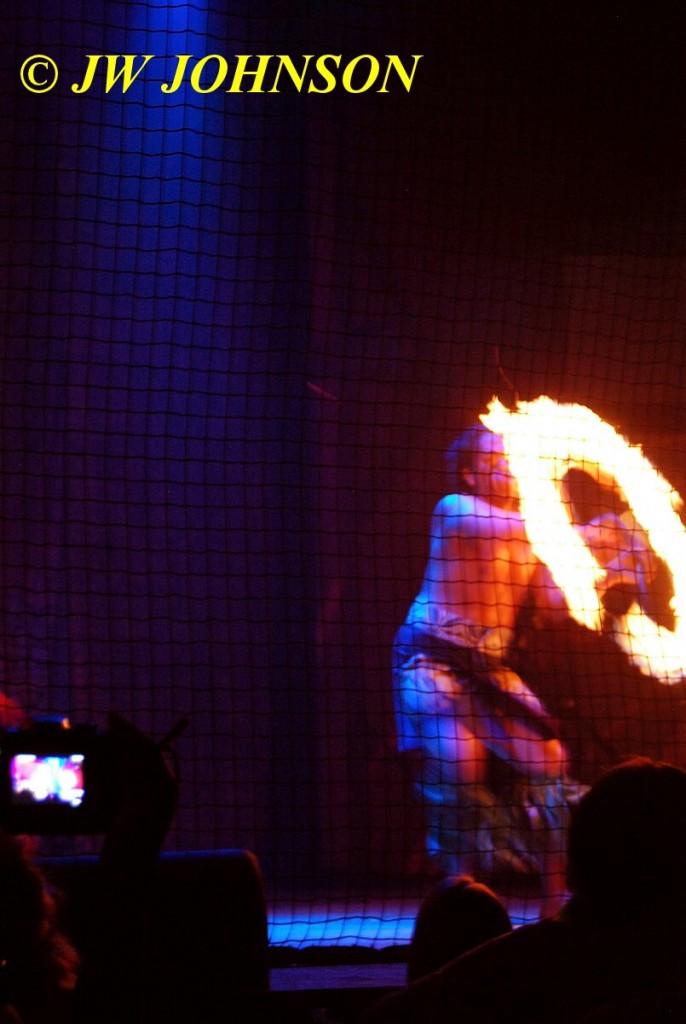 Polynesian Show Fire Dancer 3