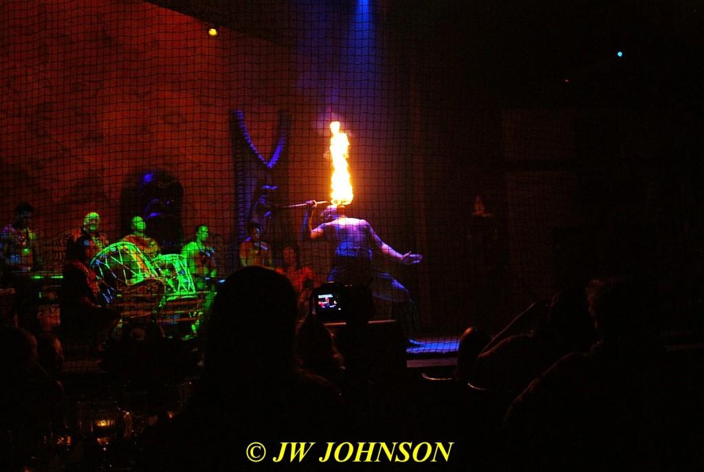 Polynesian Show Fire Dancer 9