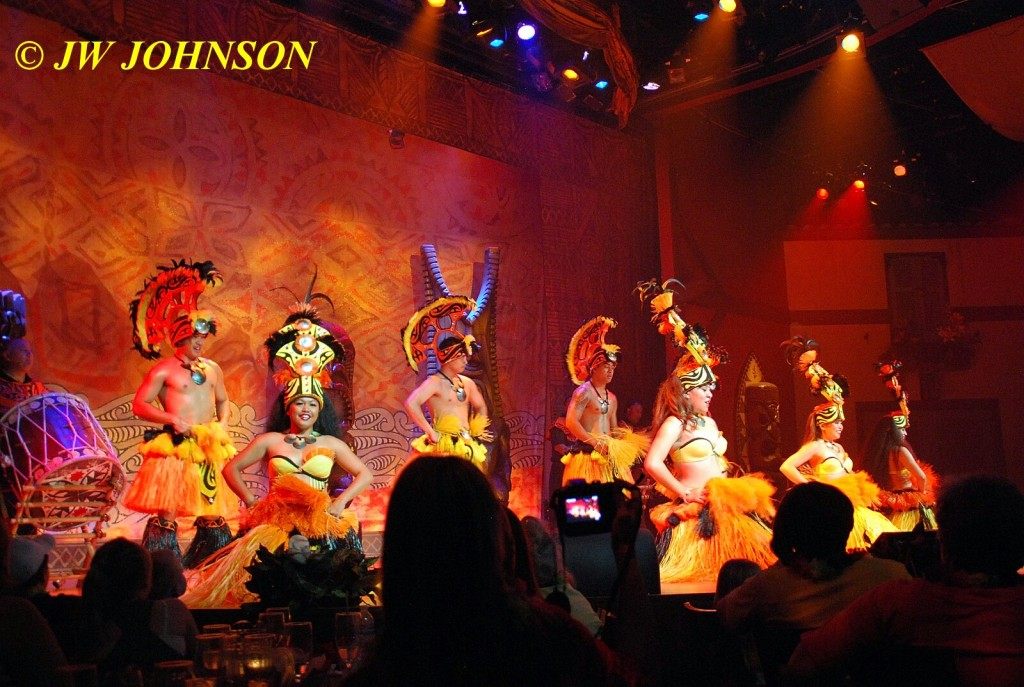 Polynesian Show Hula Dancers