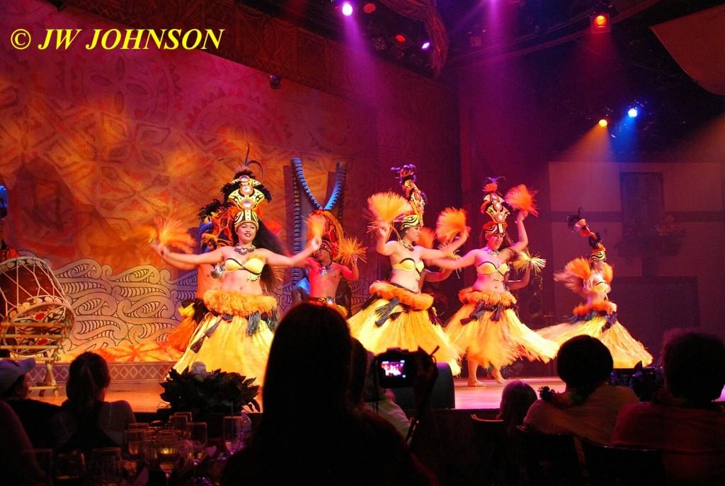 Polynesian Show Hula Dancers 3