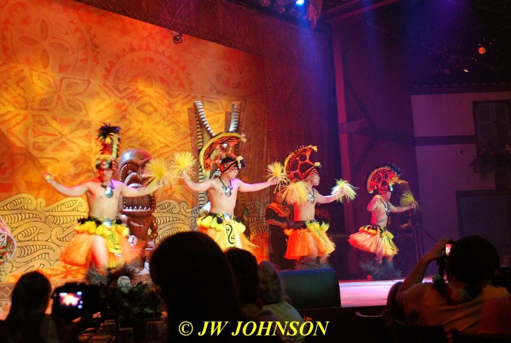 Polynesian Show Hula Dancers 5