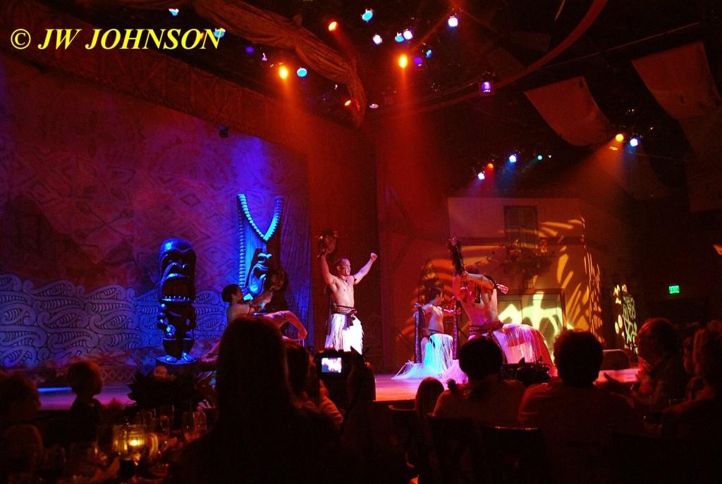 Polynesian Show Warrior Dance