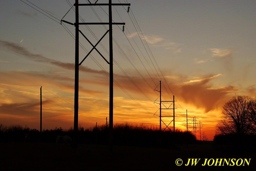 Powerline Sunset March