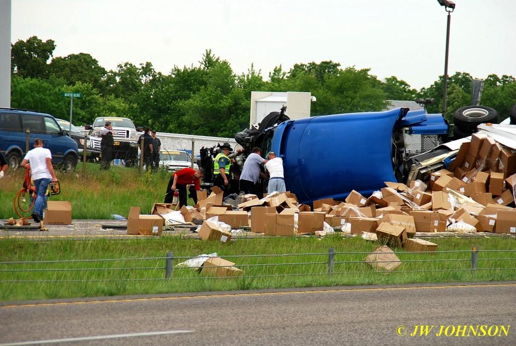 2nd MVA Extricating Truck Driver 6