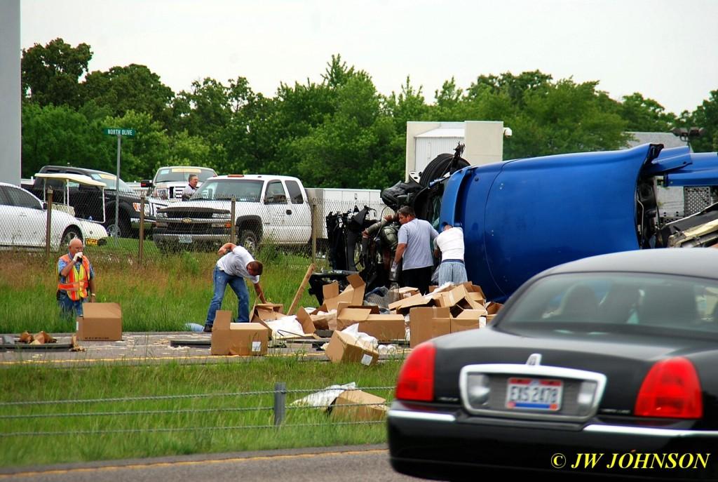 2nd MVA Extricating Truck Driver 7