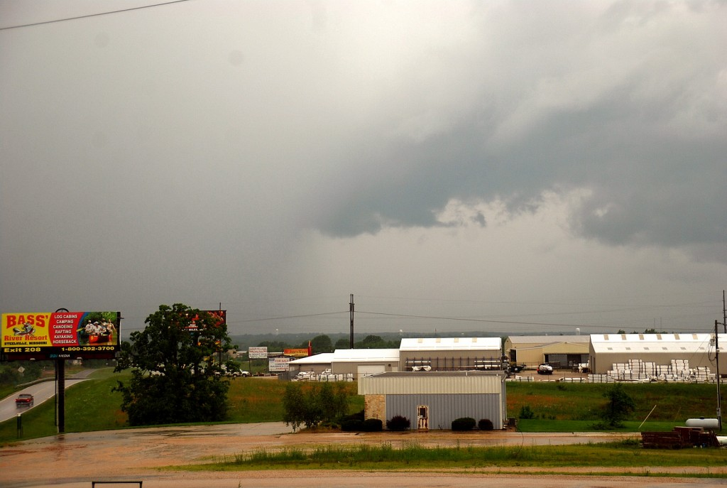Wall Cloud over Bourbon  0525
