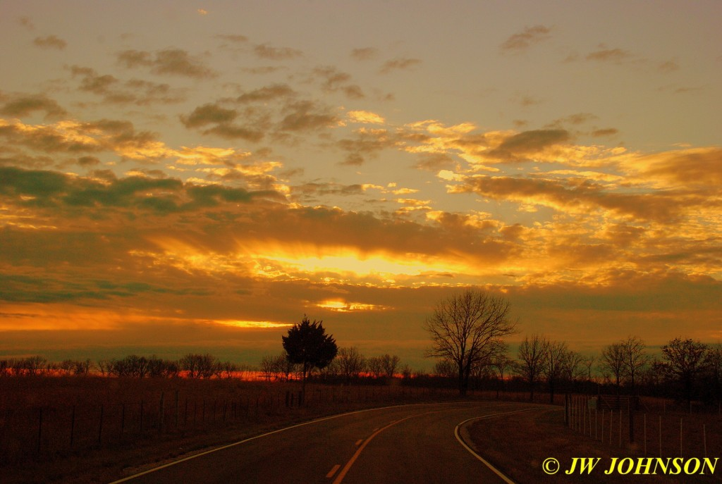 84 Sunset On Way Home