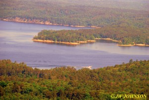114 Lake From Hickory Nut Overlook
