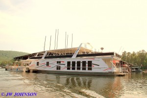 123 Houseboat 100 footer