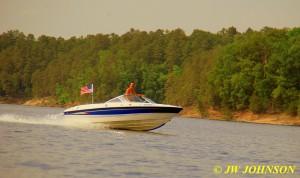 137 Speeding Boat