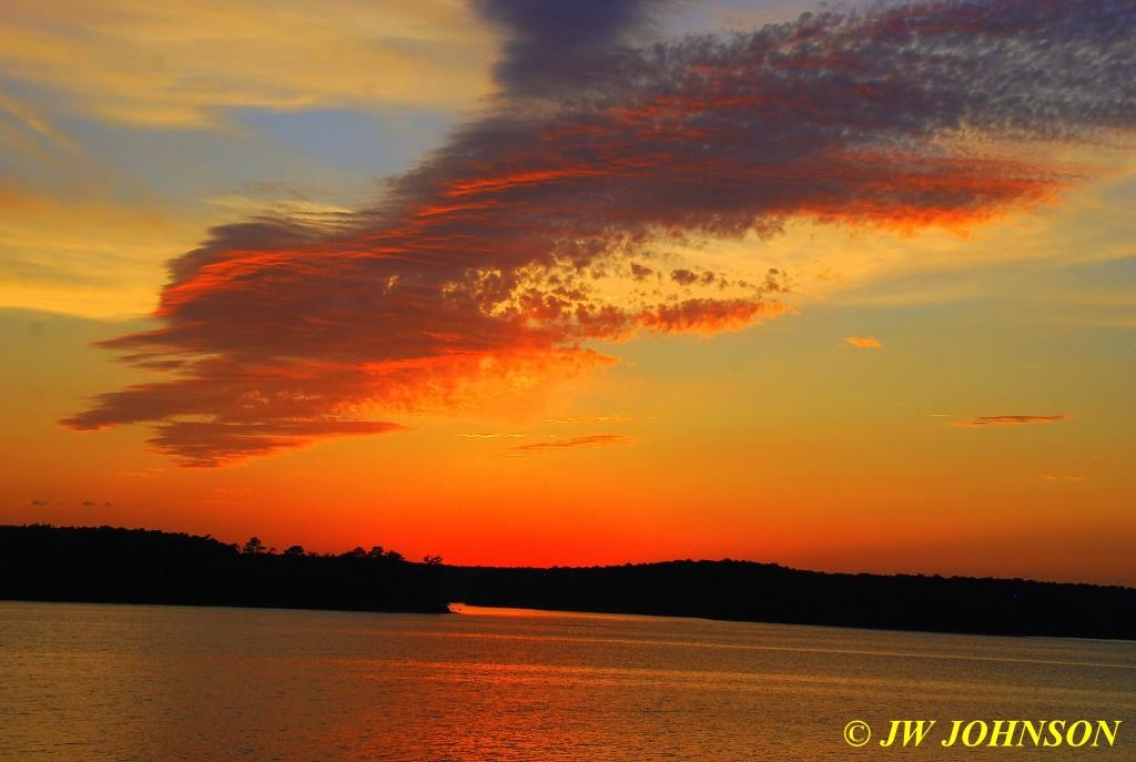 16 Sunset From Wooden Bridge