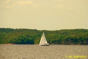 57 Sailboat On Lake Ouachita