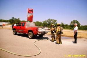 Stetson and Drew Extinguish Fire 2