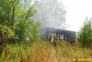 01 Grass on Fire on Arrival