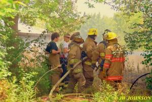 03 Extinguishing Grass Fire