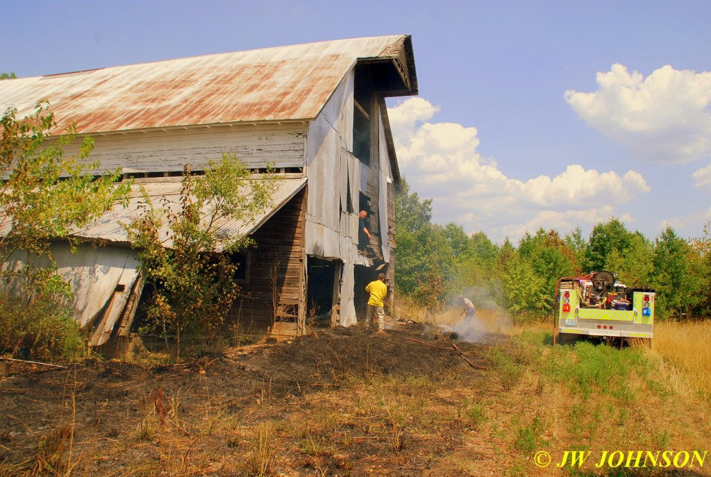 04 BFD Handles Barn Loft Fire