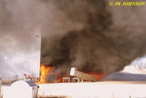 03 Arrival Heavy Fire Fed by Diesel