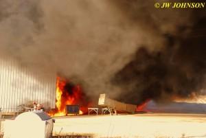 04A  Diesel Fuel Spreads Fire
