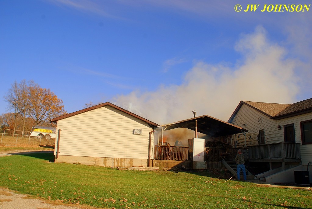 06 Shed and Woodpile on Fire