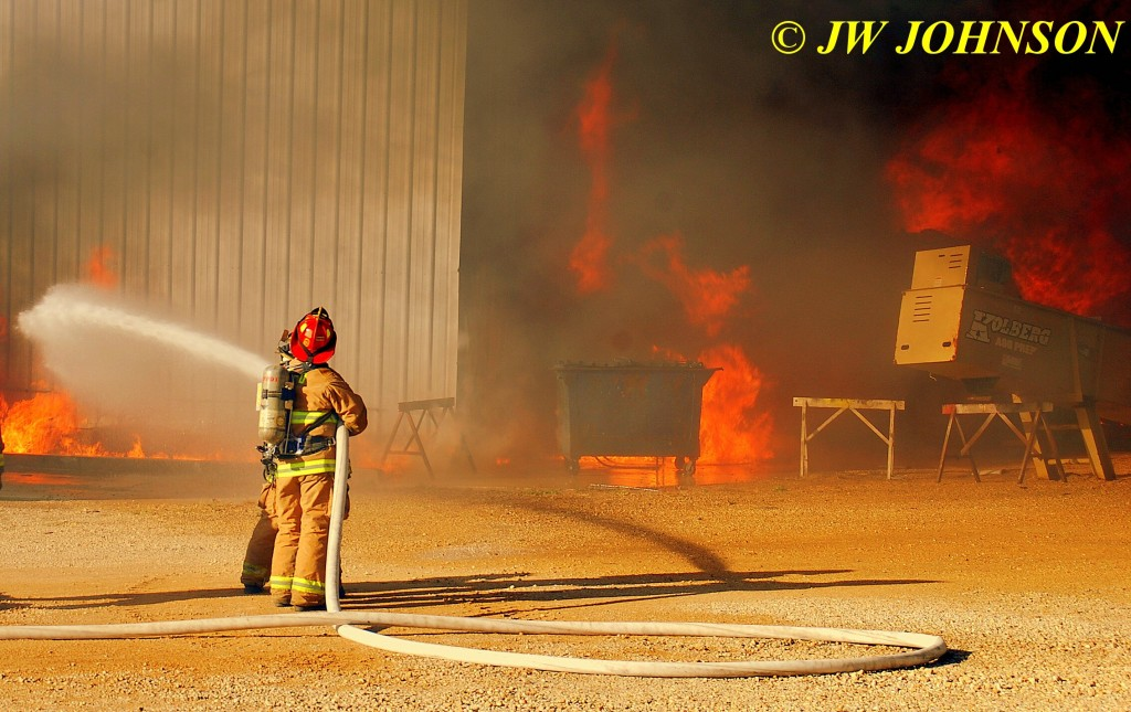 16B Fire Begins to Intensify East End