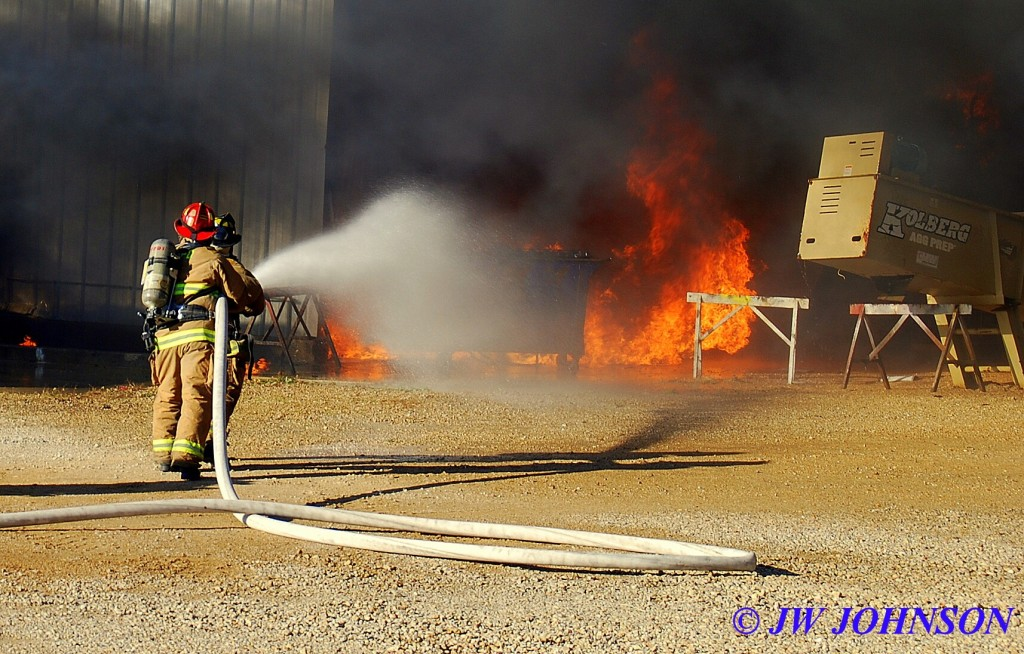 18A  Damon and John Wayne Go After Fire