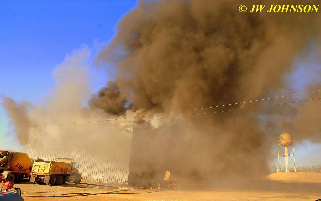 32B  Fire Escalates Thru Bldg