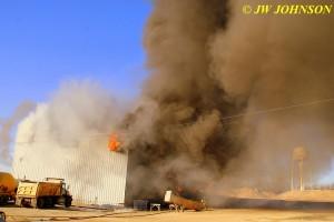 33C  Fire Rages Inside Seeks Escape