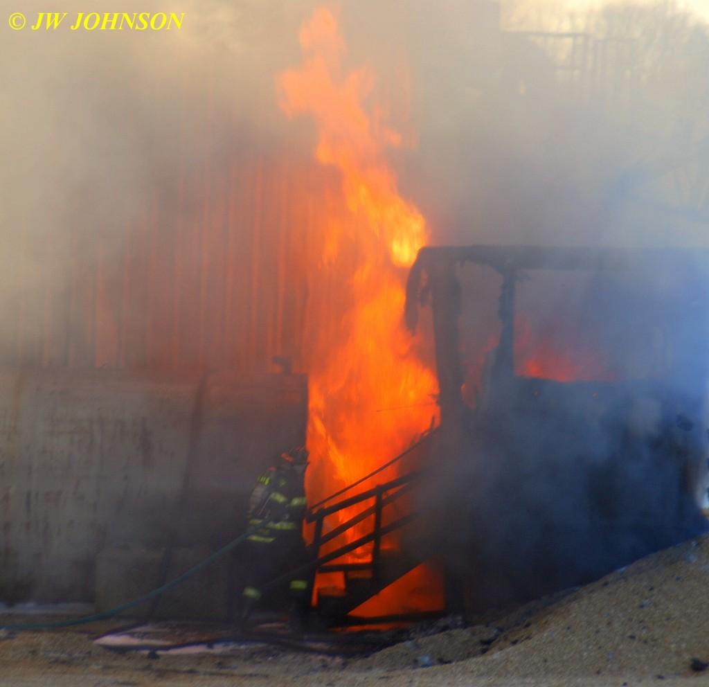 59 Firefighter Approach Heavy Fire