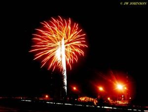 20 Red & Yellow Starburst