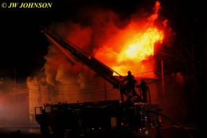 52 Heavy Fire Blows Out Back