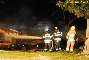 Firefighters Douse Hot Spots 2