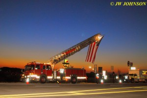 07 Raising Flag on Ladder