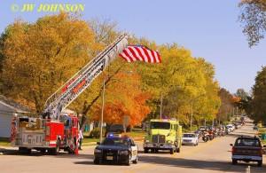 16 Funeral Escort Leaving Sullivan