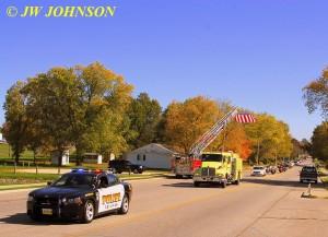 17 Funeral Escort Leaving Sullivan