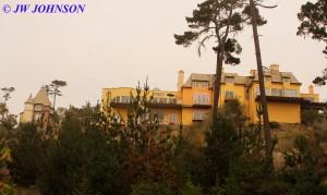 Large House on Hill on Coast