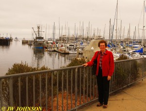 Mom At Fishermans Wharf